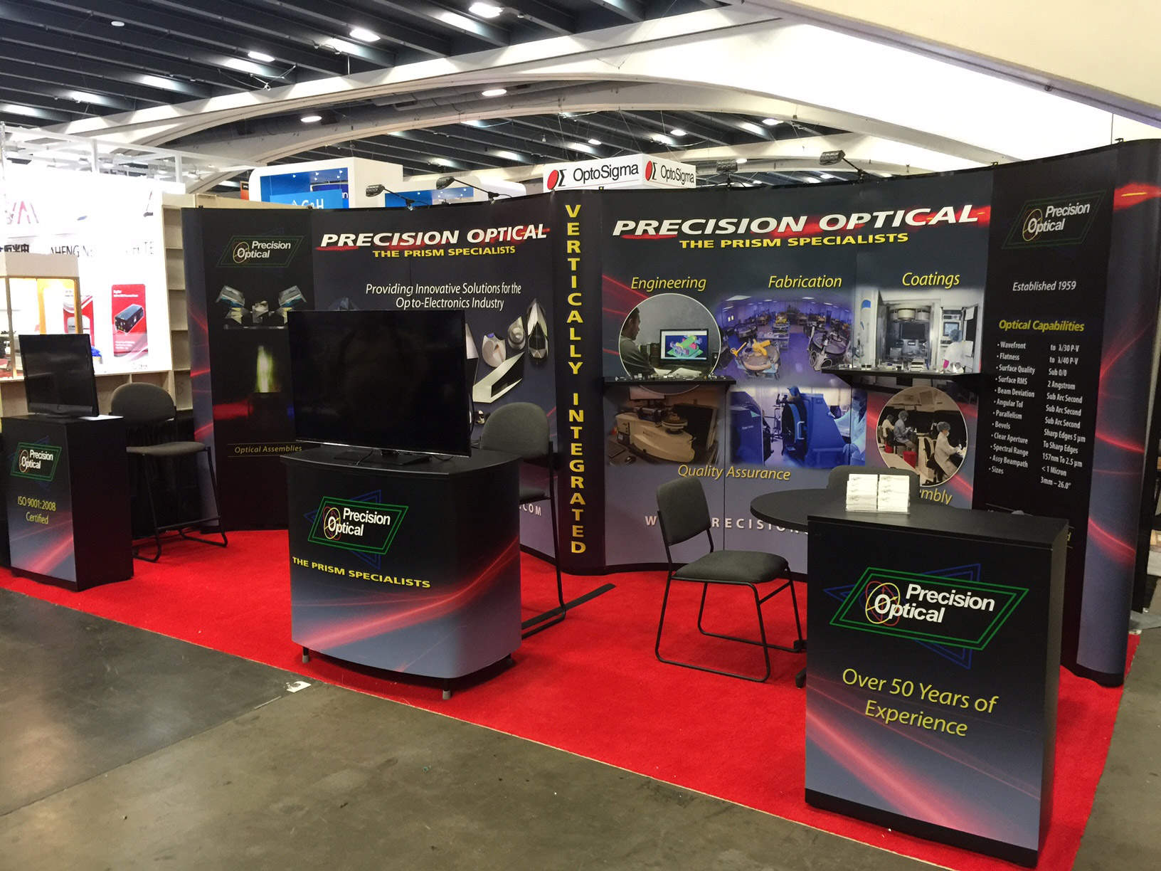 Precision Optical to Exhibit at Photonics West Booth# 338